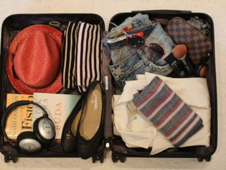 Checklist para arrumar a mala: o que levar